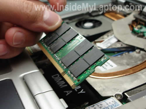 Replace laptop memory