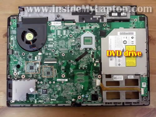 how to remove cd drive from dell studio laptop
