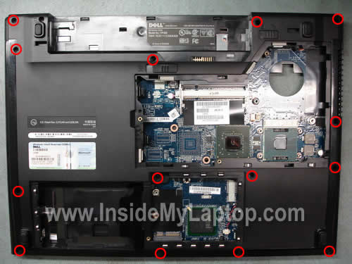 how to take apart dell vostro 1510 inside my laptop rh insidemylaptop com dell vostro 1510 owner's manual dell vostro 1510 owner's manual