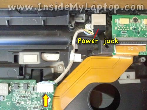 Laptop DC power jack