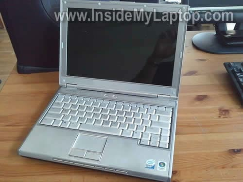 Dell XPS M1210 laptop