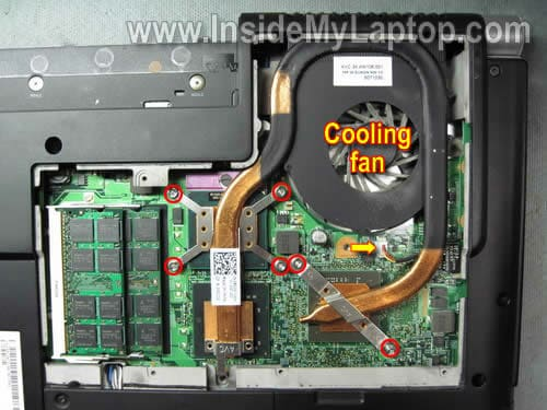How to replace fan in Dell XPS M1530 – Inside my laptop