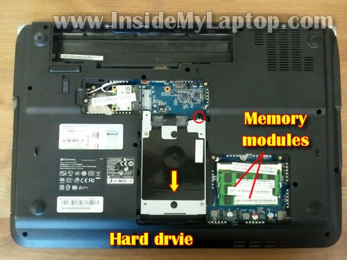 how to disassemble gateway nv to fix dc jack inside my laptop rh insidemylaptop com Gateway NV53 Gateway NV52 Motherboard Repair