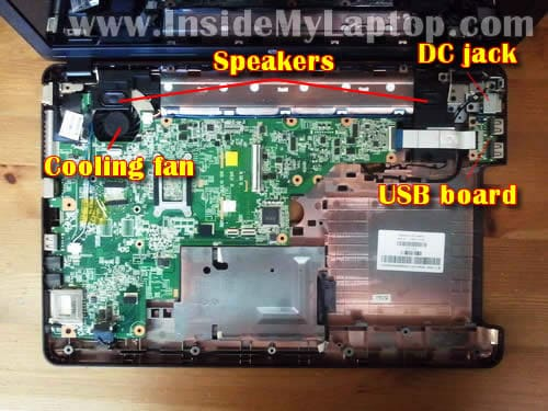 HP 2000 disembly – Inside my laptop