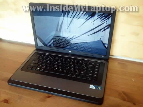 Broken hp Laptop Screen Screen on hp 2000 Laptop