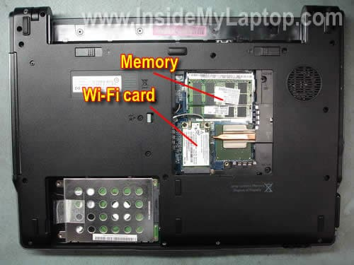How To Disassemble Hp 530 Inside My Laptop