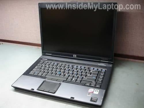 HP Compaq 8510p disassembly