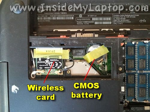 Wireless and CMOS batteryt