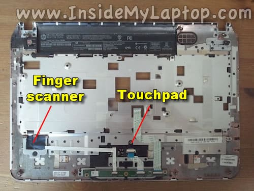 Finger scanner and touchpad