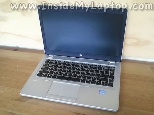 HP EliteBook Folio 9470m disassembly