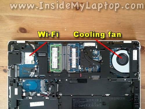 Access Wi-Fi and fan
