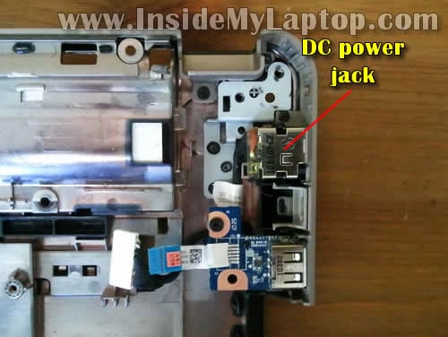 How to disassemble HP G42 or Compaq Presario CQ42 – Inside