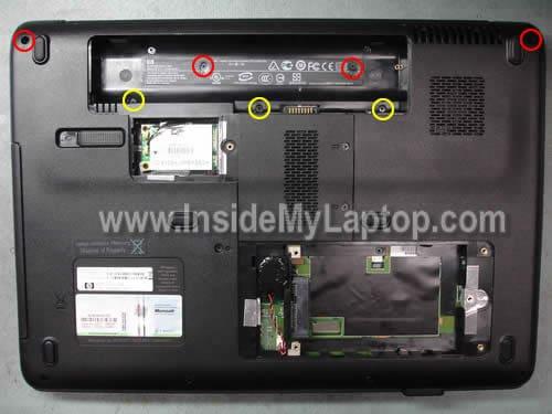 how to replace screen on hp g50 g60 g70 inside my laptop rh insidemylaptop com