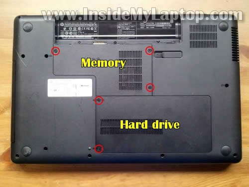 laptop disassembly 02 how to disassemble hp g62 or compaq presario cq62 inside my laptop