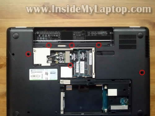 laptop disassembly:
