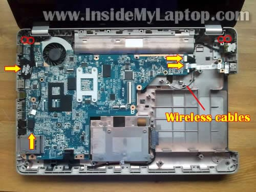 how to disassemble hp g62 or compaq presario cq62 inside my laptop rh insidemylaptop com HP G62 Battery HP 15.6 Inch Laptop Case