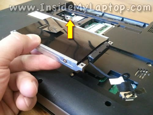 Remove hard drive assembly