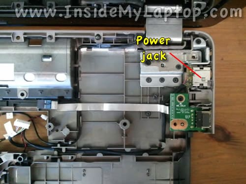 HP G72 power jack