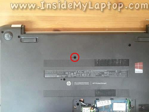 Keyboard screw