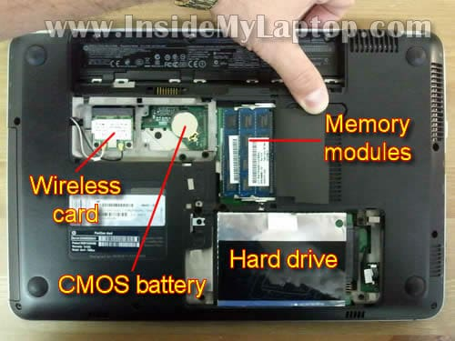 How To Disassemble HP Pavilion Dm4 Inside My Laptop