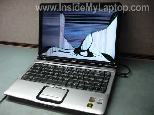 How to replace screen on HP Pavilion dv2000 – Inside my laptop