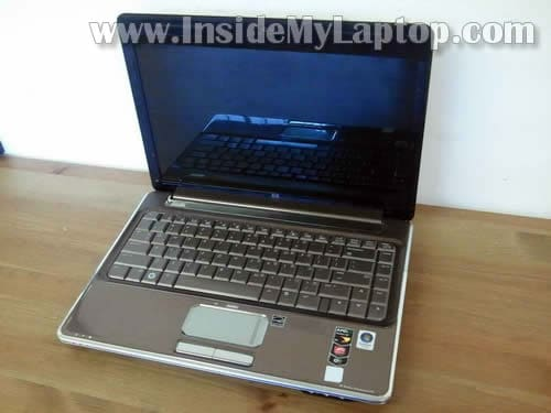 How to disassemble HP Pavilion dv4 – Inside my laptop