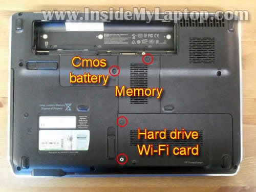 how to disassemble hp pavilion dv4 inside my laptop rh insidemylaptop com HP Pavilion Dv5 Laptop HP Pavilion Dv5 Support