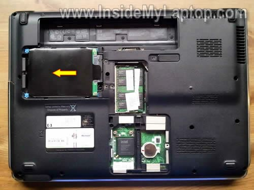 How to take apart HP Pavilion dv5 – Inside my laptop