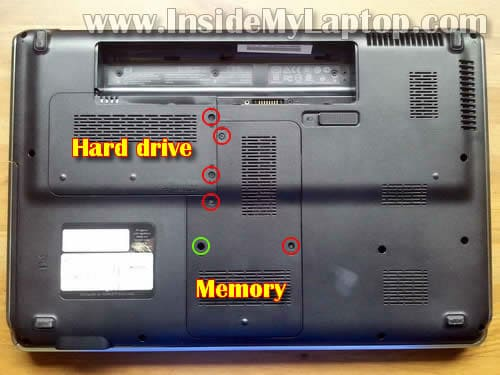 How To Disassemble Hp Pavilion Dv6 Inside My Laptop