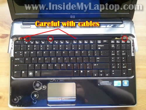 how to disassemble hp pavilion dv6 inside my laptop rh insidemylaptop com HP DV6000 Problems Dv6000 Ports