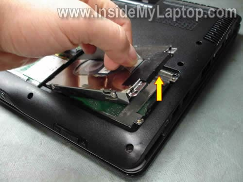 ANA: Remove hard drive from hp laptop