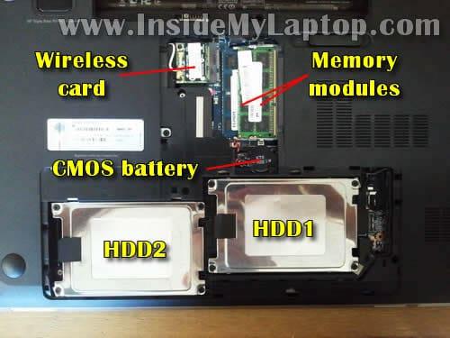 Taking apart HP Pavilion dv7  Guide 3  – Inside my laptop