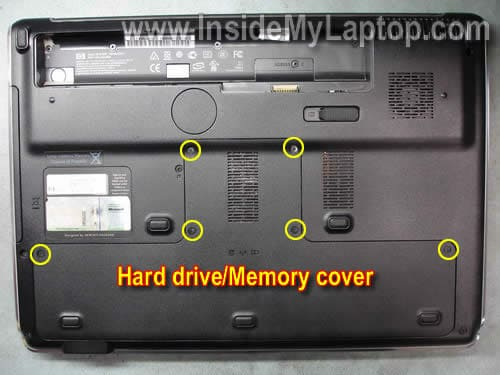 How to disassemble HP Pavilion dv7 – Inside my laptop