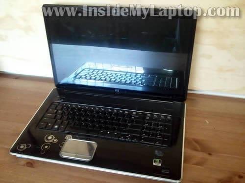 how to take apart hp pavilion dv8 inside my laptop rh insidemylaptop com HP Pavilion Dv8000 Memory Specs HP Pavilion Dv8000 Parts