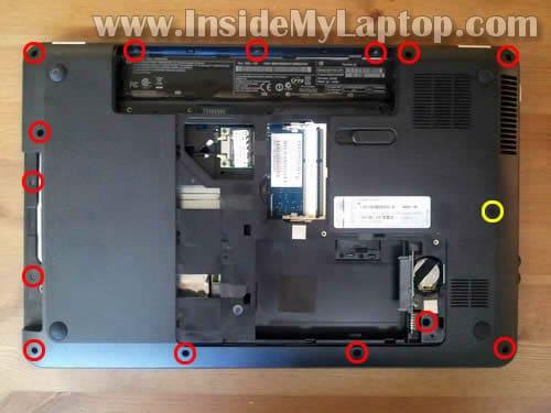 inside my laptop
