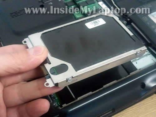 Remove hard drive hp pavilion laptop