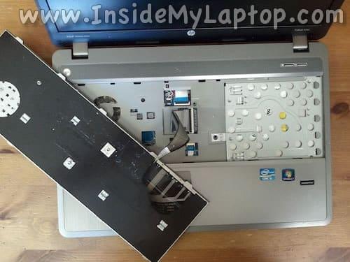Access keyboard connector
