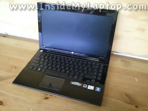 HP ProBook 5310m notebook disassembly