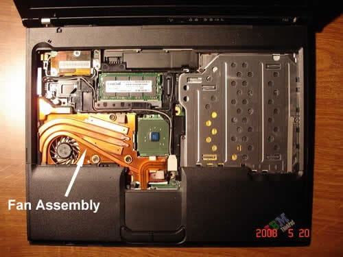 IBM ThinkPad T42 fan