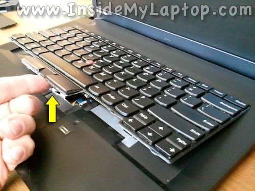 Lift up keyboard