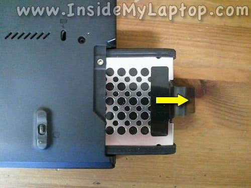 Remove hard drive