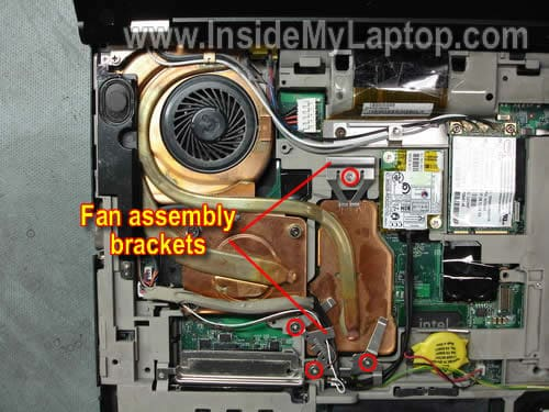 How to replace fan in Lenovo ThinkPad T61 – Inside my laptop