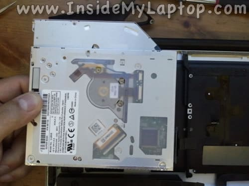 Remove MacBook Pro optical drive