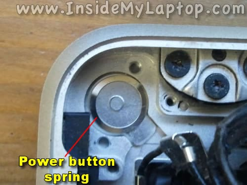 MacBook Pro power button spring