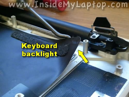 Start separating keyboard backlight
