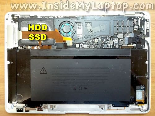 MacBook Air 2008-2009 hard drive