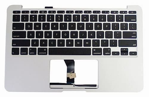 MacBook Air top case keyboard
