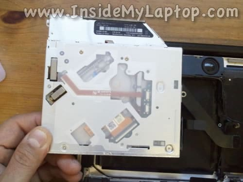 Remove MacBook Pro DVD drive