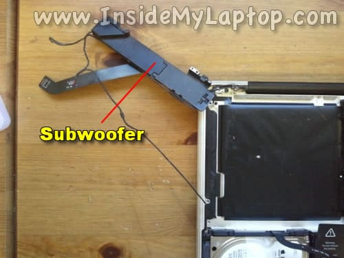 Remove subwoofer