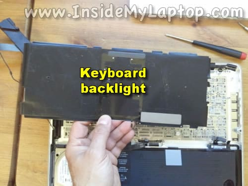 Remove keyboard backlight